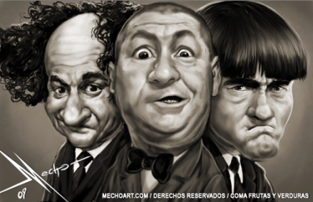 The Three Stooges Drawn