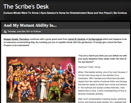 My Scribesdesk Post Cover