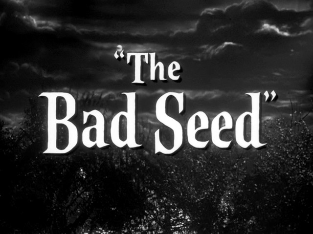 THE BAD SEED: Oh, Rhoda...