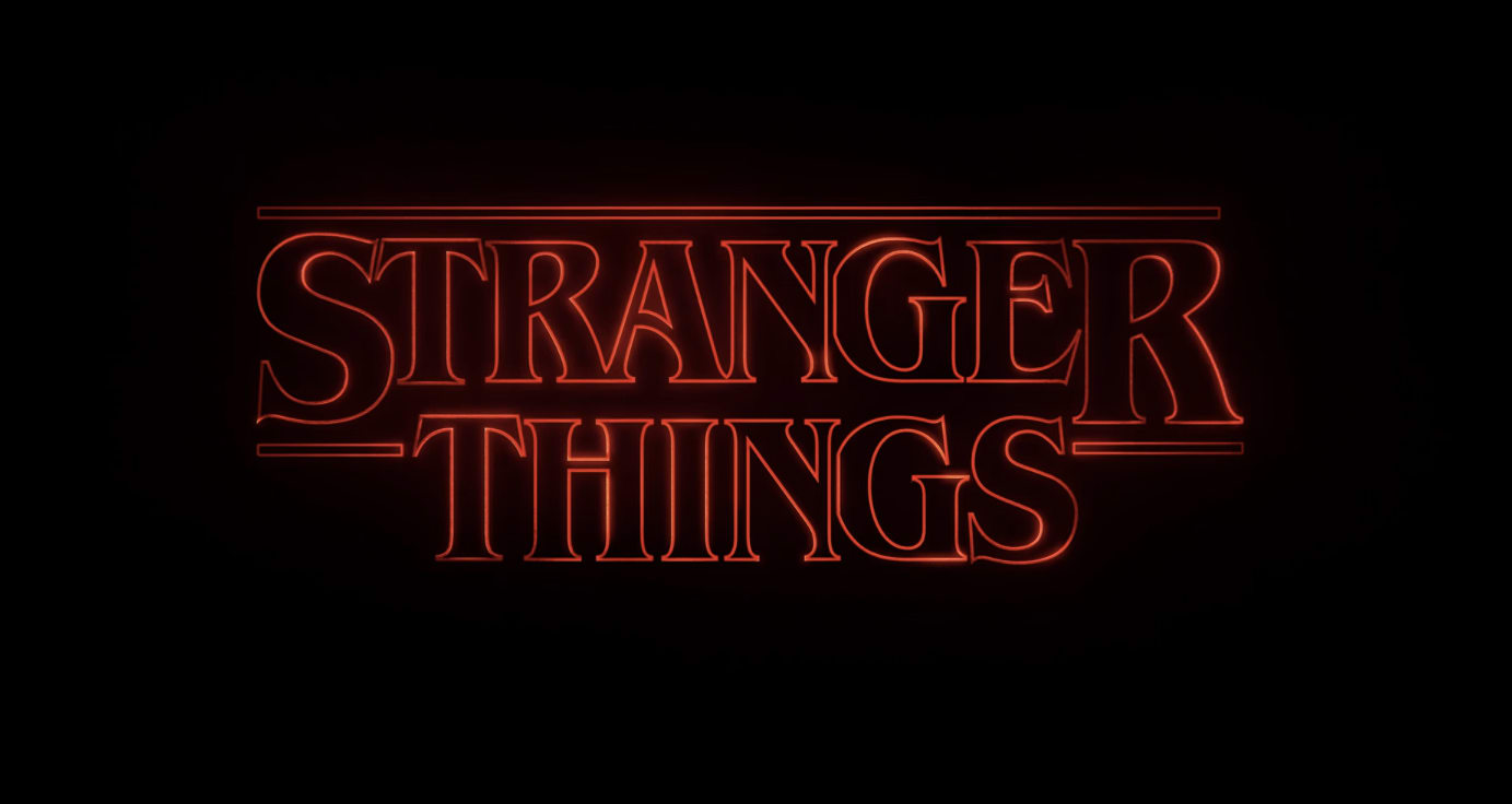 Sranger Things Logo