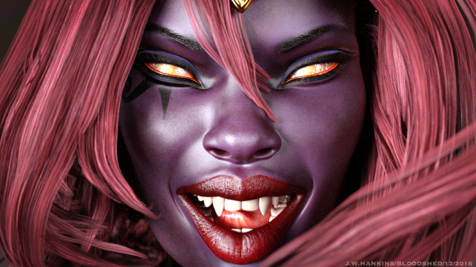 Bloodshed Face