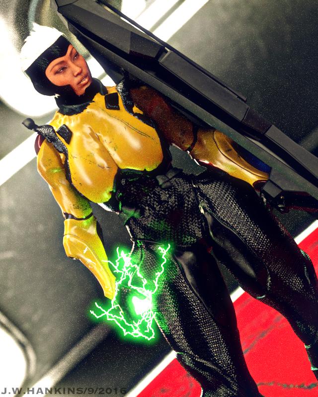 Olivia - Armored